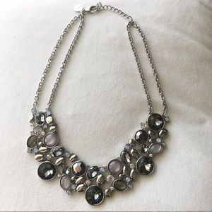 White House Black Market Cluster Necklace